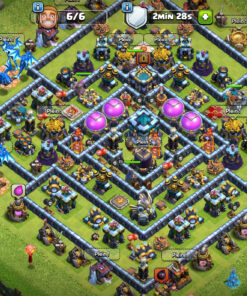 Achat compte clash of clan hdv13
