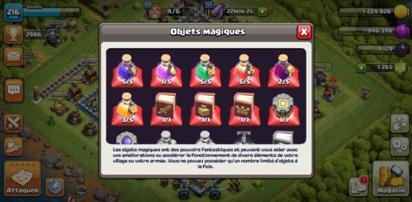 Achat compte TH14 clash of clans