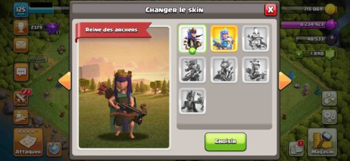 Achat compte clash of clan th10