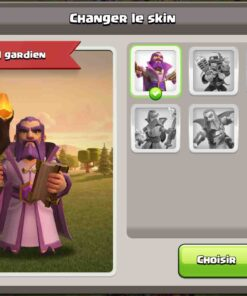 Achat compte clash of clans th 12