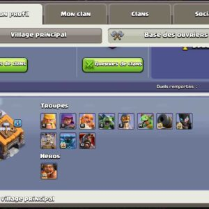 Buy account clash of clans th14