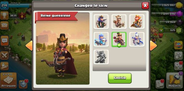 Th14 skin reine compte for sell