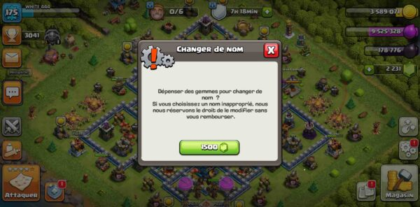 clash of clans compte hdv12
