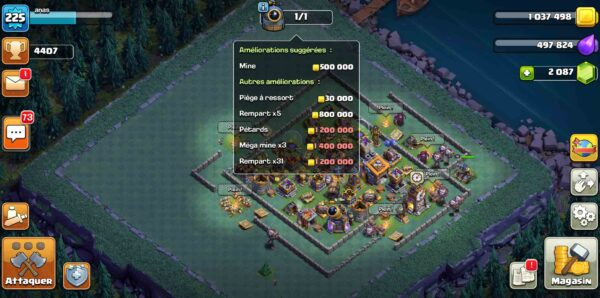 sell account clash of clans th14