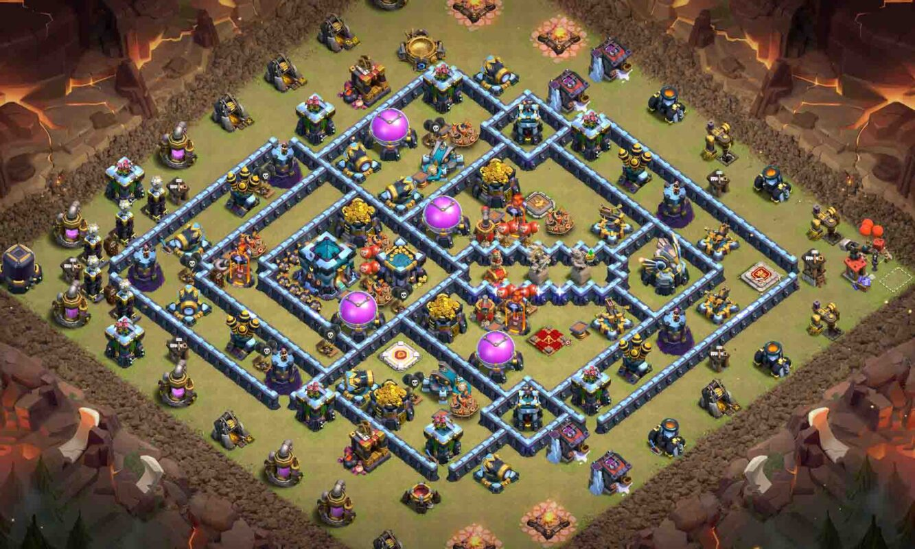 Clash of clans base rush