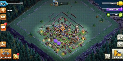 Compte clash of clans