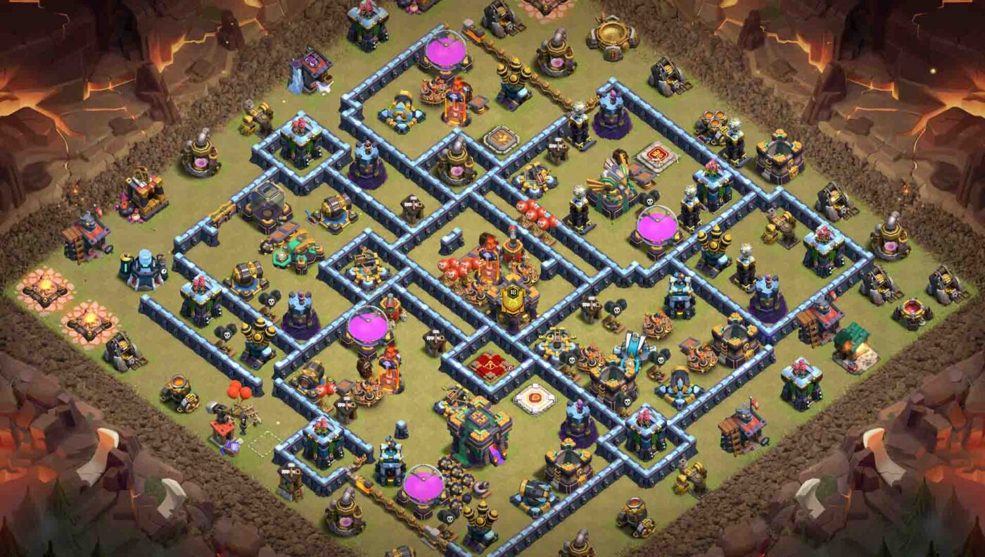 HDV 14 clash of clans