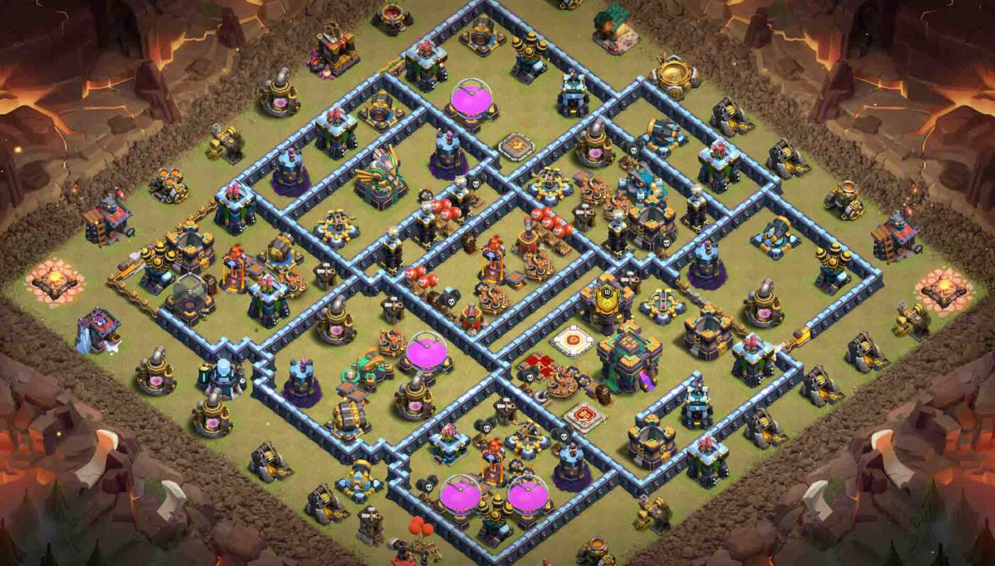 HDV14 clash of clans