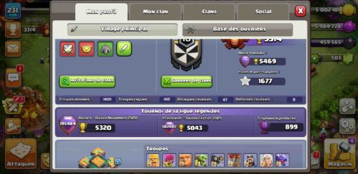 Sell clash of clans account