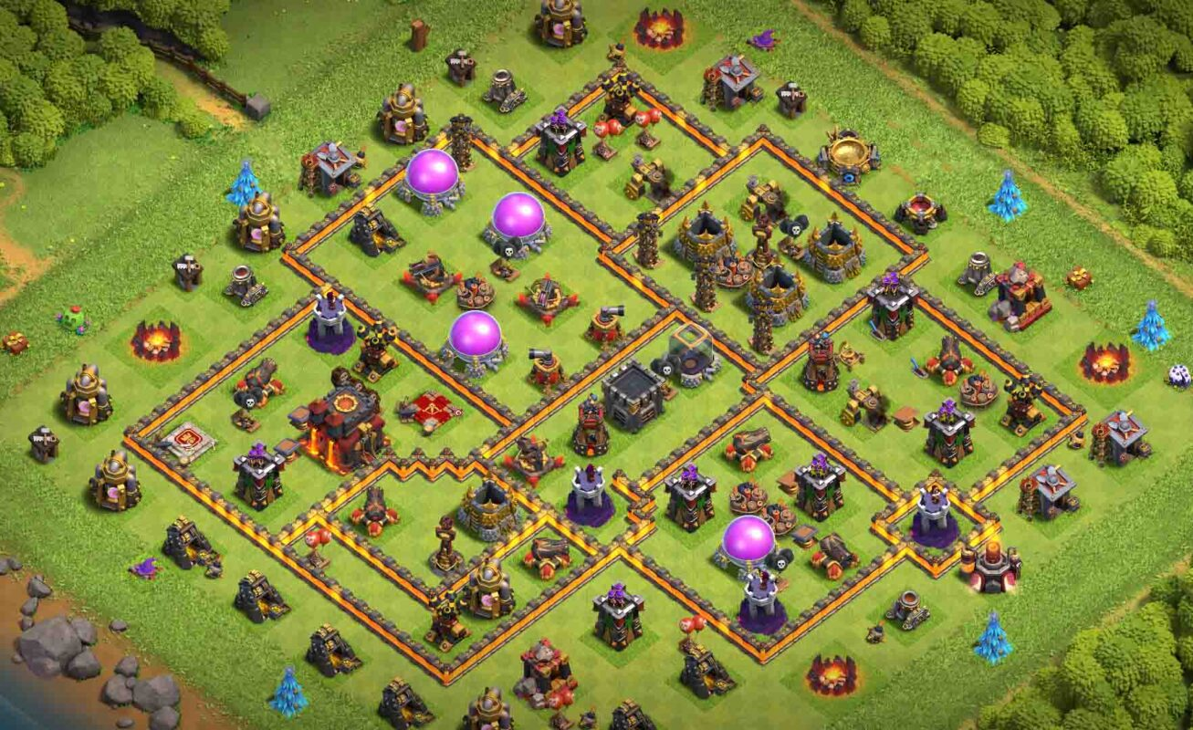 Town hall 10 clash of clans
