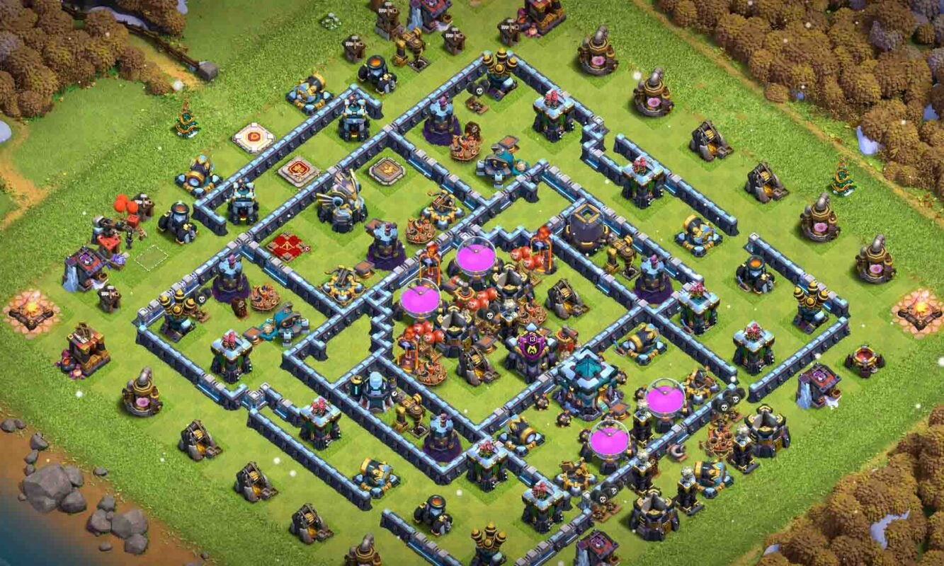 clash of clans base th13