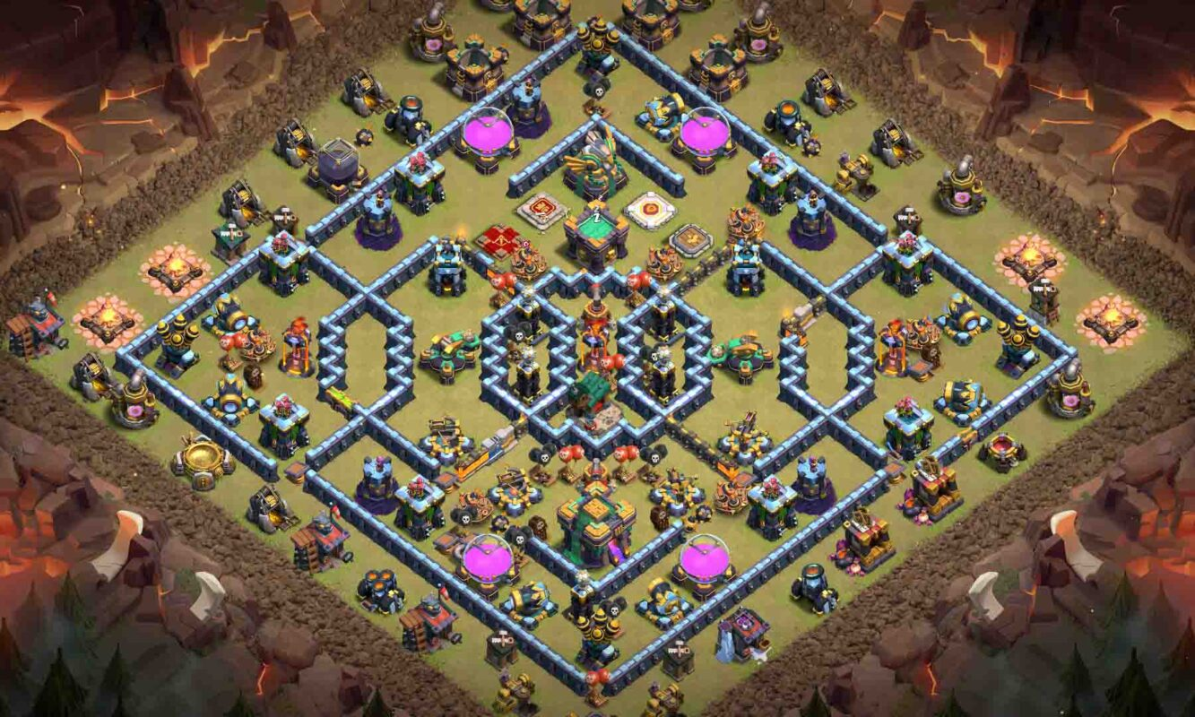 clash of clans hdv14