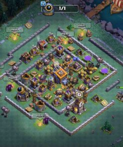 Achat compte clash of clans th14